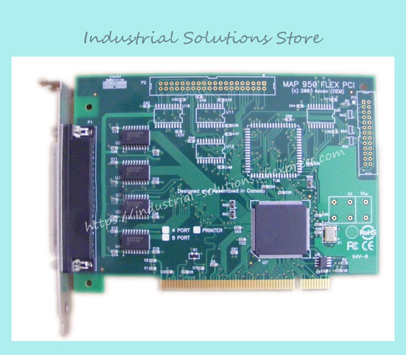 MAP 950 FLEX PCI control industrial motherboard 100% tested perfect quality pca 6008vg industrial motherboard 100% tested perfect quality