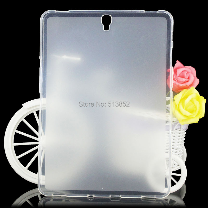 Case For Samsung Galaxy Tab S3 TM-T820 T825 T829 / 9.7 Inch High Quality Pudding Anti Skid Soft Silicone TPU Protection