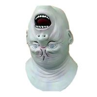 New Invert Face Mask Horror Scary Mask Cosplay Profiled Maske Ghoul Mask Party Masque Silicone Latex