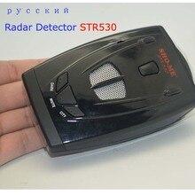 Auto-detektor STR530 Russische Anti Auto Geschwindigkeitsradarwarner menschlichen stimme und strelka kostenloser versand
