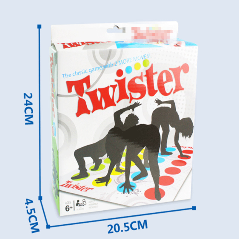 New The Standard Version OF The Body Twist Twister Game Multi Party Interactive Game Props Most Outdoor Sport Toys