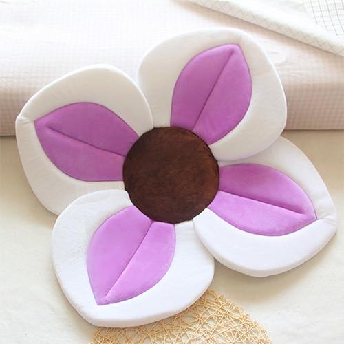 Baby Shower Soft Seat Blooming Flower Newborn Bath Mat New 4 or 7 – Piece Baby Petal Bath Tub Folds Babys Petal Baths Tub