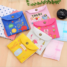 New 1 Pc Multi-functional Wet Bag Reusable Bag for Mama Cloth Pads Menstrual Pad Sanitary Pads Also Can Be Coin Bags Hot