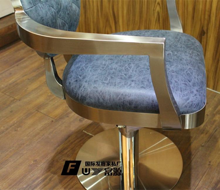 Hairdressing chair. Barber chair. European high-grade hairdressing chair. The new chair lift