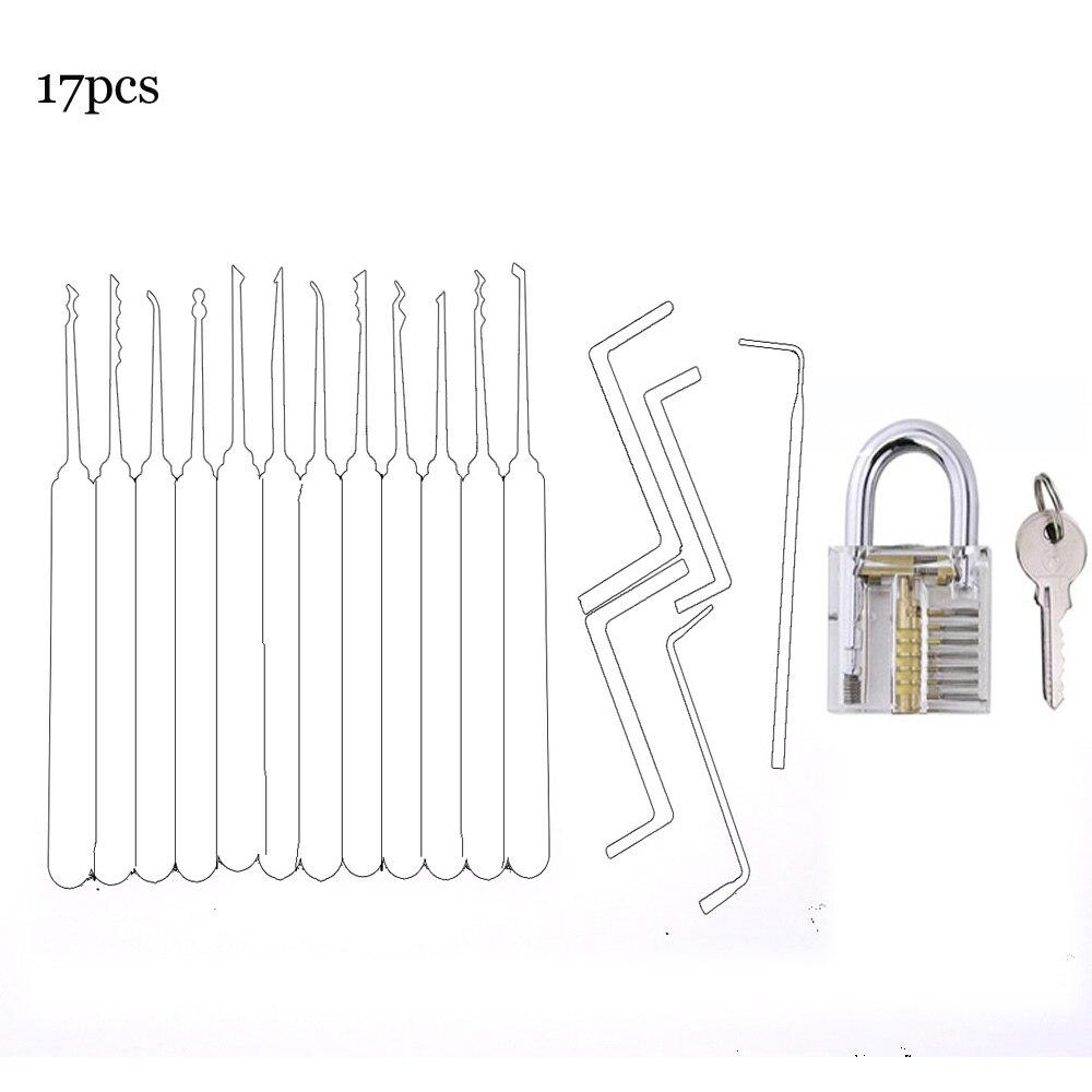 Gratis Verzending Slotenmaker Gereedschap Pick Set Transparante Lock