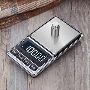 Image 5 - אלקטרוני תכשיטי מאזן קנה מידה גרם 0.01 דיוק עבור זהב דיוק מיני כיס סולם מטבח משקל סולם