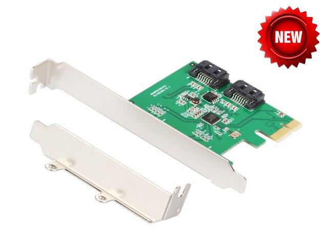 Sata Porta Cartão Raid Pci-e x1 Pci Express Card Asm 1061 Chipset Iii 2-port