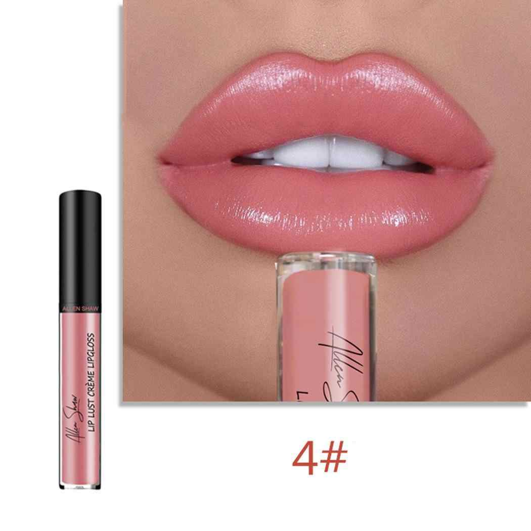 Новый макияж косметический матовый стойкий водонепроницаемый мягкий жидкий цвет 1-color 12 Блеск для губ 25 г