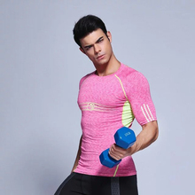 Sports Tight Clothes Fitness Running Training Shirt Basketball Clothes Outdoor Sportswear Perspiration T-Shirts