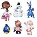 Popular Doc McStuffins 6pcs/set Doctor and Friend Girls & Dragon & Sheep & Hippo 5-8cm Action Figure Toys Girls Dolls Gifts bone