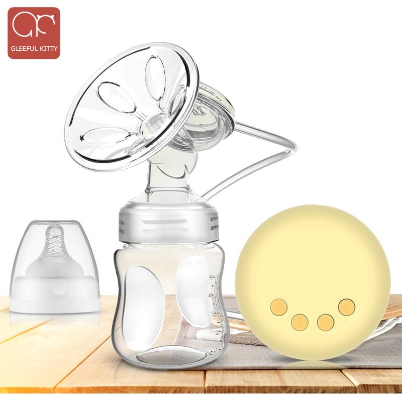 Milk Bottle USB Electric Baby Breastfeeding Pump Comfort Single Breast Pumps
