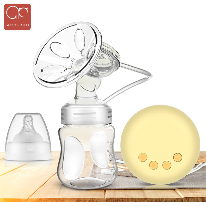 GK Electric Breast Pump,Comfort Breastfeeding Baby Breast Pump Milk Pump,9 Levels,Super Suction,Single USB Infantil Breast Pumps