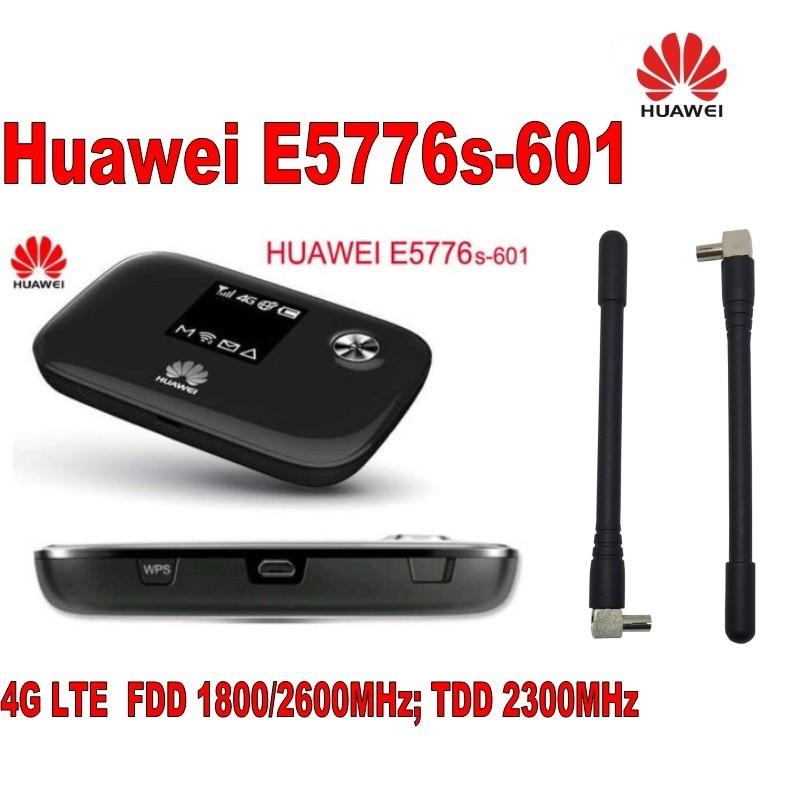 Débloqué Huawei E5776s-601 4G FDD/ATME Sans Fil MiFi Routeur WiFi Hotspot NEUF + 2 pièces 4g Antenne