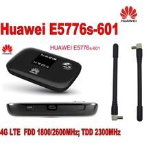 Unlocked Huawei E5776s-601 4G FDD/TDD Wireless MiFi Router WiFi Hotspot NEW+2pcs 4g Antenna
