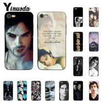 Yinuoda The Vampire Diaries Ian Somerhalder Luxury PhoneCase for iPhone8 7 6 6S 6Plus X XS MAX 5 5S SE XR 10 11 11pro 11promax