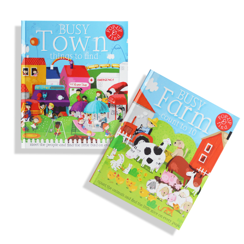 0-6 ans enfants bébé livre stéréo 3D original anglais illumination image début de soutien éducatif point de lecture series1