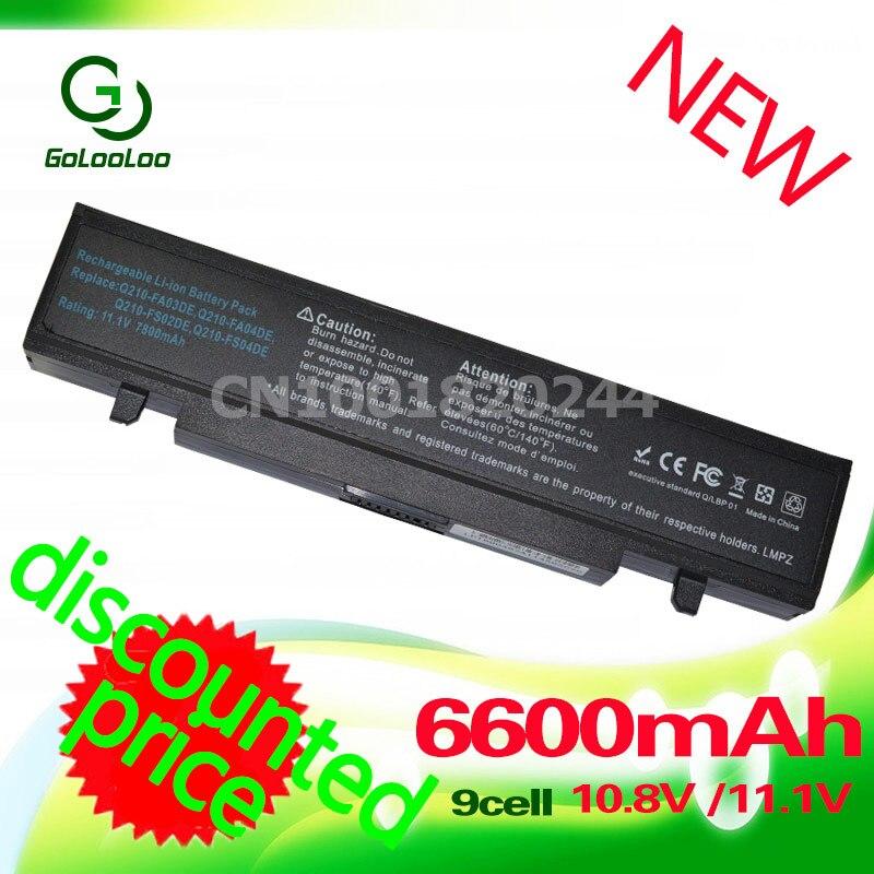 Golooloo 4400mAh Battery for Samsung AA-PB9NC6B RV520 AA PB9NC6B AA-PB9NS6W NP300E5A RF511 R425 R519 R468 RV428 RC530 np355v5c 4400mah rv520 battery for samsung r428 r429 r430 r438 r460 r425 rf511 aa pb9nc5b aa pb9nc6b np300e5a np355v5c np300e5c rc530