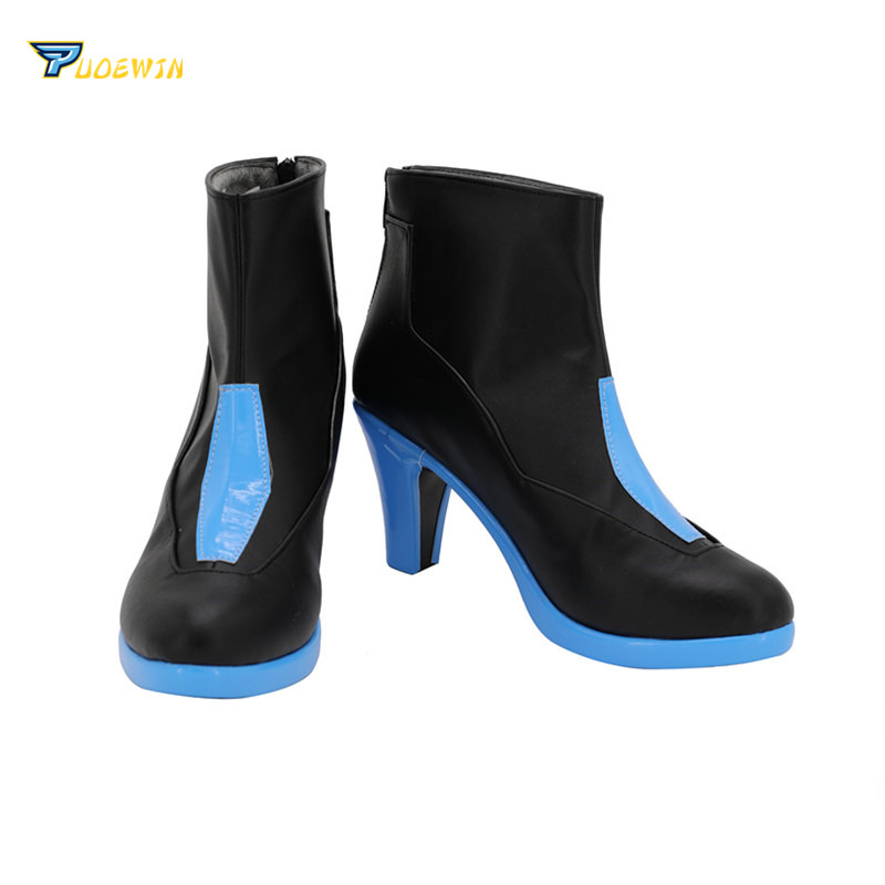 Hyperdimension Neptunia Neptune Ultra Dimension Cosplay Shoes Boots in Shoes from Novelty Special Use
