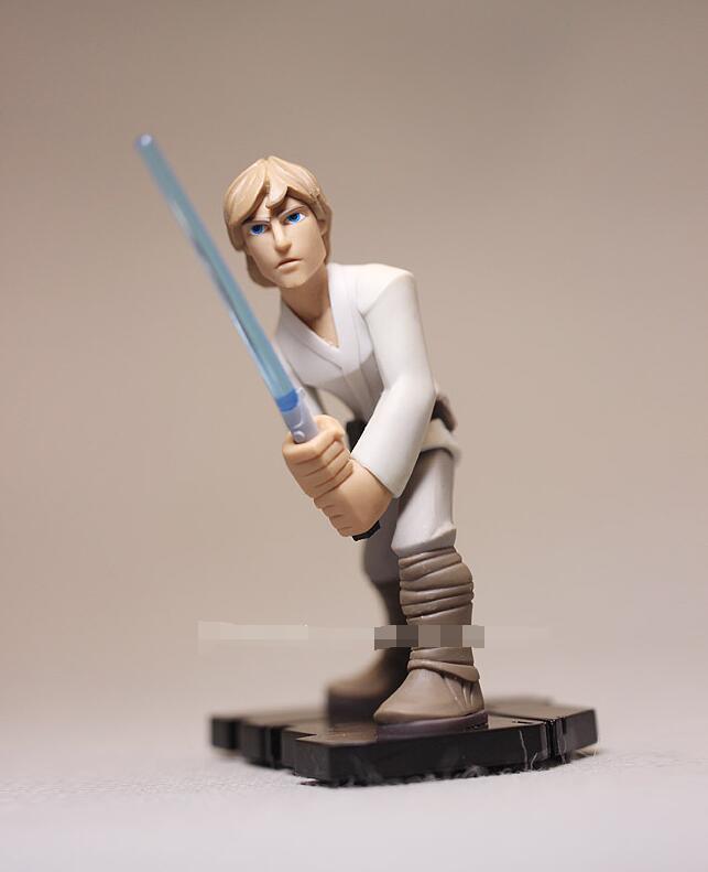 բարձրորակ Star Wars ֆիգուր խաղալիքներ Darth - Խաղային արձանիկներ - Լուսանկար 4