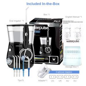 Image 5 - Flotador Dental Waterpulse V660H irrigador bucal de agua cuidado Dental hilo Dental 5 boquillas con función de masaje limpio