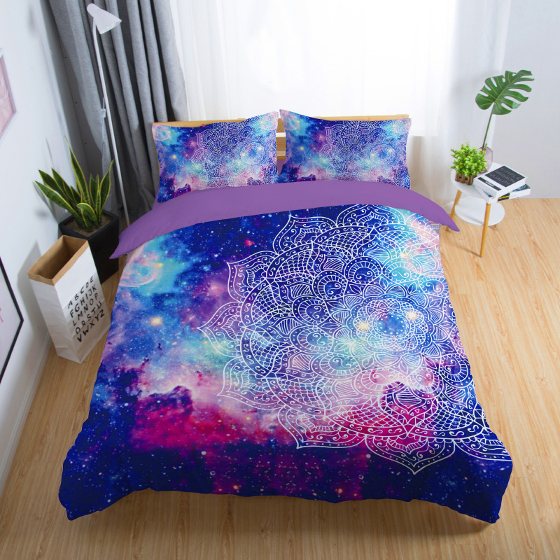 3d Galaxy Duvet Cover Set Single double Twin/Queen bedding sets Universe Outer Space Themed Bed Linen 3d Galaxy Duvet Cover Set Single double Twin/Queen bedding sets Universe Outer Space Themed Bed Linen