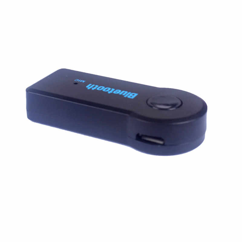 Wireless Car Bluetooth Receiver Adapter 3.5MM Auxiliary Audio Stereo Music Hands Car Bluetooth Audio Adapter