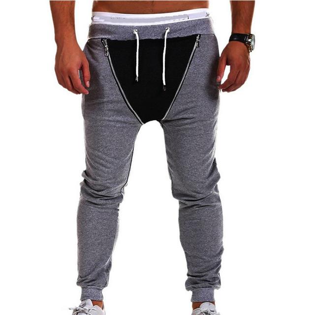 2016 nova moda masculina calças malepantalons homme marca hombre chandal pantacourt calças sweatpants jogger calças dos homens casuais