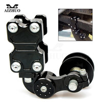 Motorcycle Adjustable Chain Tensioner Roller for HONDA VFR 1200 ST 1300 Black SpiRit NC750 S CB1100 CB600F CBF 600 1000 1000L