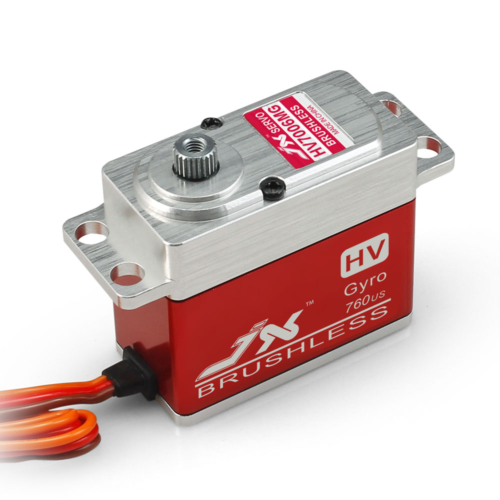 Superior Hobby JX BLS-HV7006MG 6KG High Precision Metal Gear Full CNC Aluminium Shell High Voltage Brushless Digital Gyro Servo superior hobby jx pdi hv5212mg high precision metal gear full cnc aluminium shell high voltage digital coreless short servo