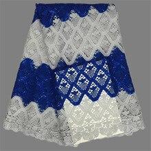 Beliebte bekleidung material zum nähen Afrikanischen guipure-spitze textil Afrikanischen wasserlösliche spitze stoff EWP4 (5 yards/lot)