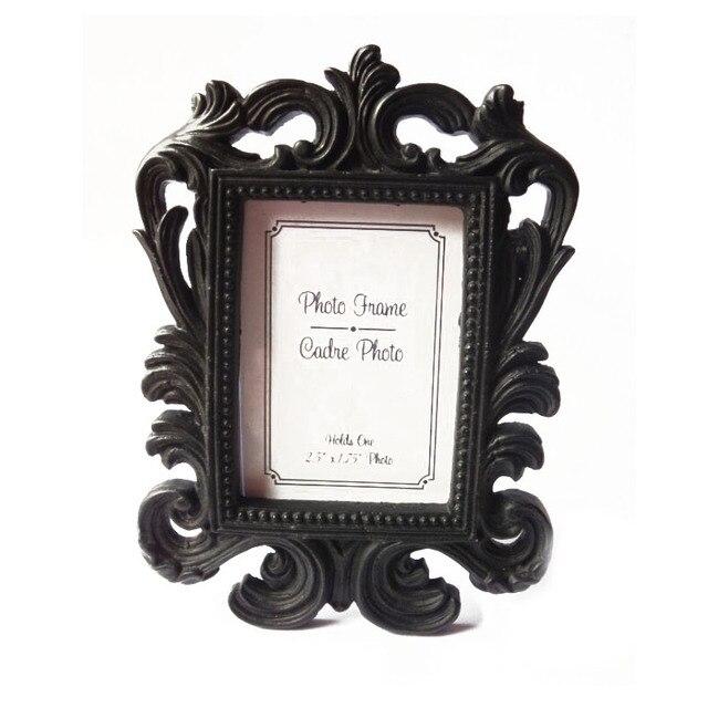 200 unids resina del estilo del Victorian barroco blanco y negro ...