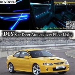 NOVOVISU dla Vauxhall Monaro/GTO wnętrza atmosfera światłowód zespół światła wewnątrz drzwi Panel oświetlenia