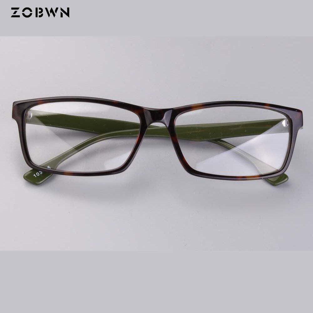 3ace27a8f Homens Masculino Óculos de Prescrição Armações De Óculos quadrados Mulheres  para Miopia Frame Ótico oculos de