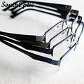 Горячая полукадр титана , так очки унисекс удобный четыре цвета очки по рецепту очки оправы оптический 1925
