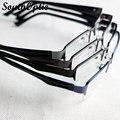 Caliente media marco de titanio Alike gafas Unisex cómodo cuatro colores gafas graduadas vidrios marcos Eyewear óptico 1925