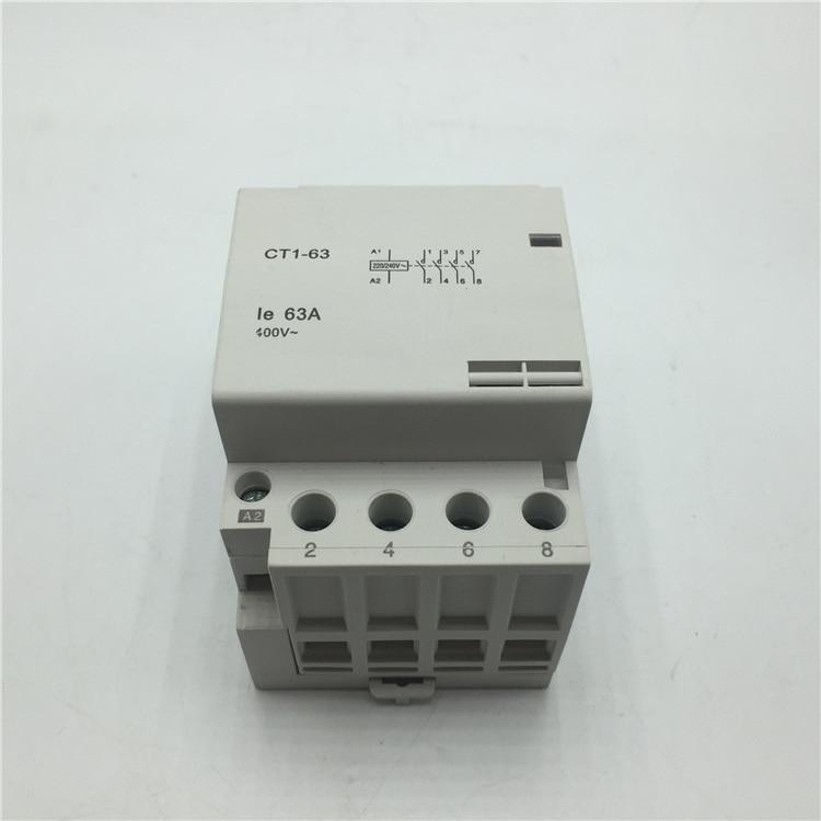 CT1 4P 40A 2NC 2NO 220V 400V~ 5060HZ Din rail Household ac contactor