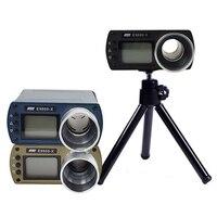 Instrumentos de medição da velocidade do medidor de velocidade da precisão para fotografar o verificador portátil da velocidade do chronoscope E9800 X da tela lcd Instrumentos de medição de velocidade     -