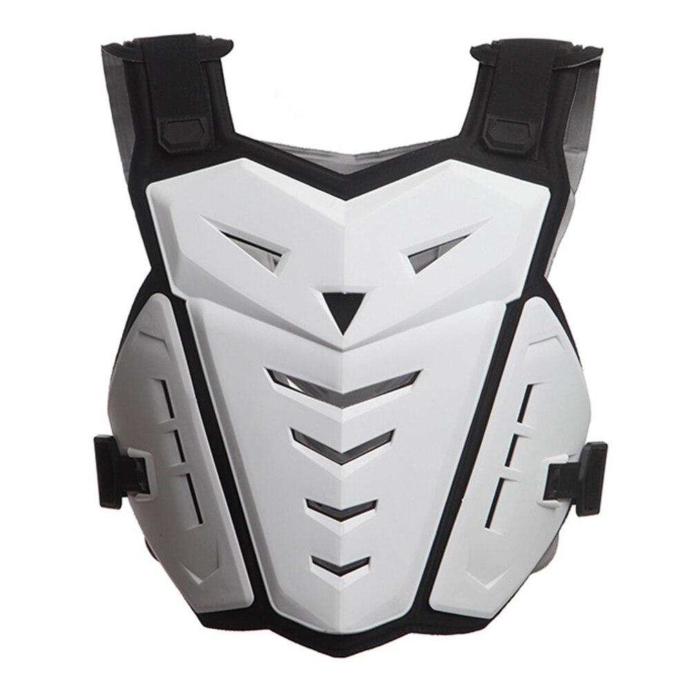 Protecteur de dos évidé Durable soutien de poitrine doux Anti bosse vitesse réglable moto équitation gilet d'armure pratique