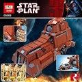 Lepin 05069 Star Wars Serie Tanque de Transporte de La Federación Establece 1338 Unids MTT Niños Bloques de Construcción Ladrillos Juguetes Modelo 7662