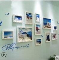 Kingart Grote Houten Fotolijst Muur Decoratieve Fotolijst Thuis Opknoping Fotolijst