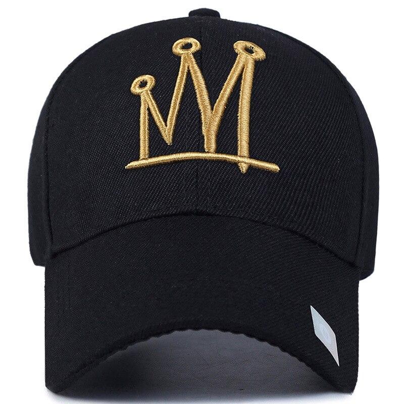 Haute Qualité nouvelle mode strass cristal couronne enfants casquettes de baseball marque populaire beauté relances chapeaux pour garçon filles enfant