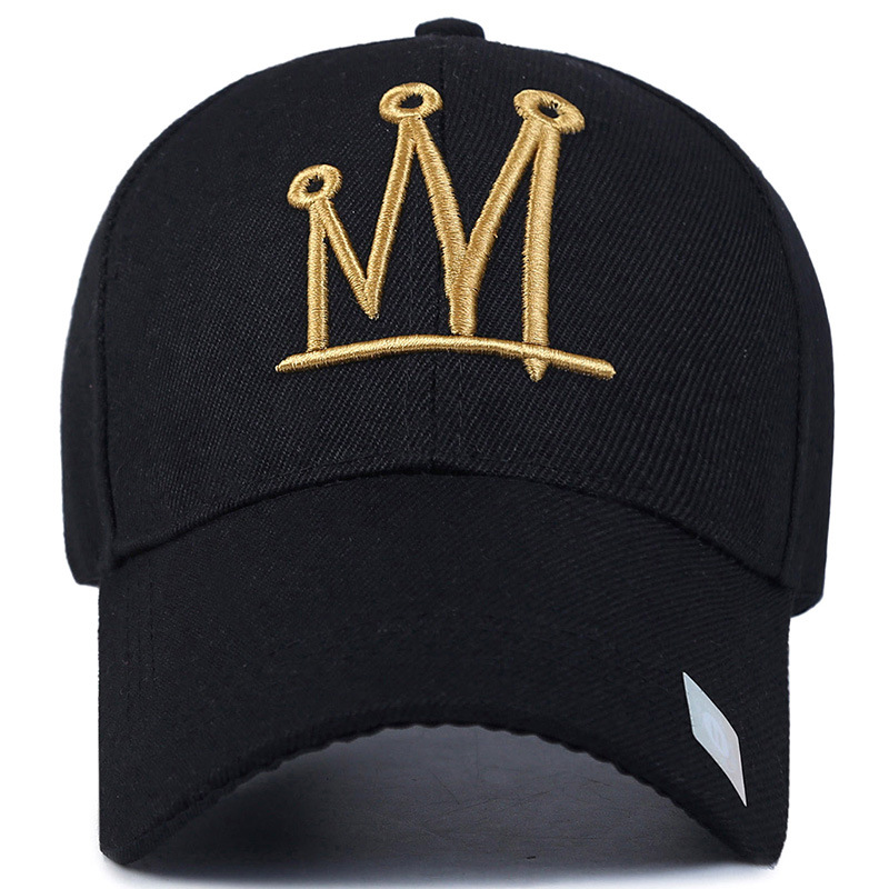 High Quality new fashion rhinestone crystal crown children baseball caps  brand popular beauty snapbacks hats for boy girls child a834bd732df