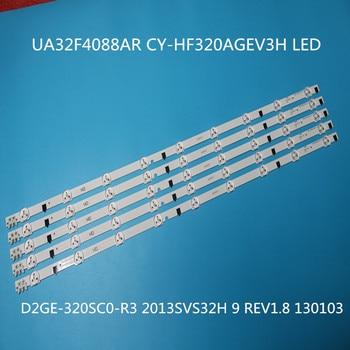 5 pieces/lot FOR samsung 2013SVS32H Ue32f5000 D2GE-320SCO-R3 UA32F4088AR UA32f4100AR backlight LUMENS D2GE-320SC0-R3 650MM 9LED цена 2017