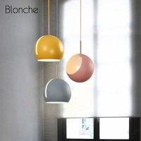 Lámpara nórdica giratoria de Luces colgantes modernas para el hogar  comedor  cocina  dormitorio  lámpara colgante  lámpara macaron Led para interiores|Luces colgantes| |  -