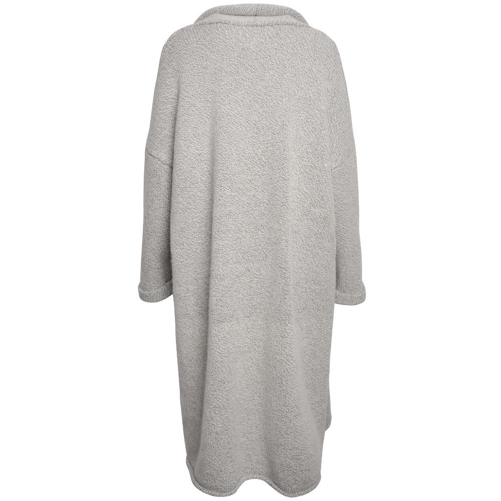 WHITE ISLAND Extra long cardigan plus size sweater Winter warm ...