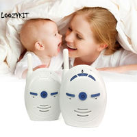 Loozykit 2.4GHz Wireless Baby Portable Digital Audio Baby Monitor Sensitive Transmission Two Way Talk Crystal Clear Cry Voice