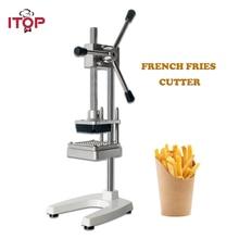 ITOP Vertical Potato Chip Cutter Potato Carrot Shredding Machine French Fries Cutter Vegetable Fruit Tools 6mm 9mm 13mm 09 vertical single joint potentiometer b5k flower stem length 13mm