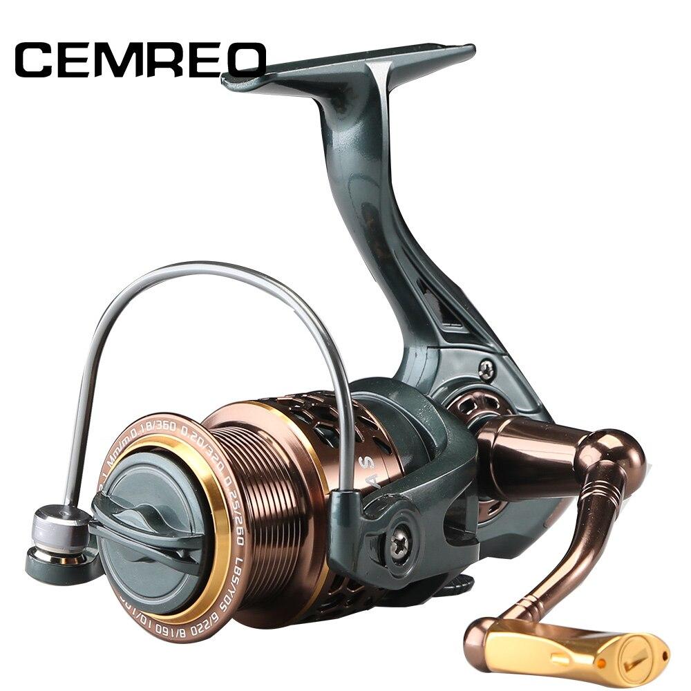 CEMREO 11 + 1BB moulinet de pêche au leurre bobine de bobine en métal 2000 3000 4000