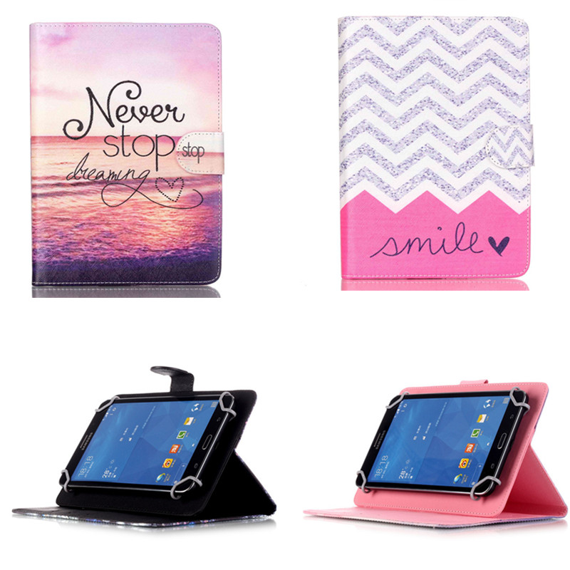YH Universal PU Leather Stand  Cover For 7 inch Tablet PC Cases For Samsung Teclast iPad lenovo acer asus 7 inch Android Tablet палатки