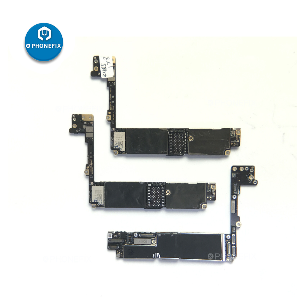 PHONEFIX Damaged Breaks Down Logic Board For Iphone 7 7P Intel Qualcomm Motherboard Repair Experience Skill Training Soldering